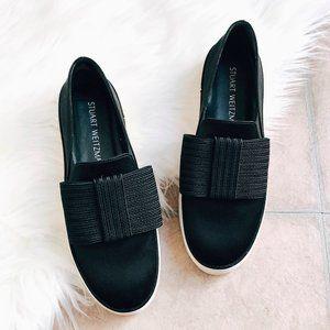 Stuart Weitzman 'Bowgal' Platform Slip-On Sneaker